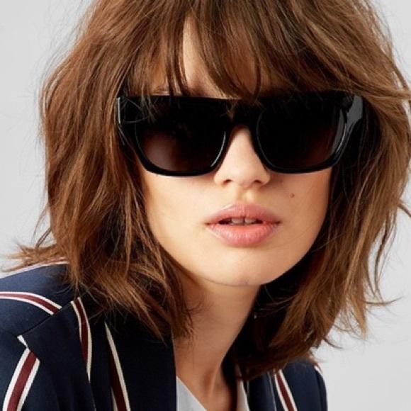 22436465ee86b QUAY Australia Black Sunglasses w Soft Case